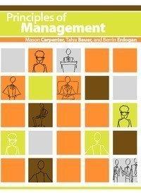 9780982043073: Principles of Management