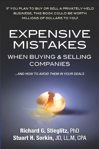 9780982050064: Expensive Mistakes When Buying & Selling Companies