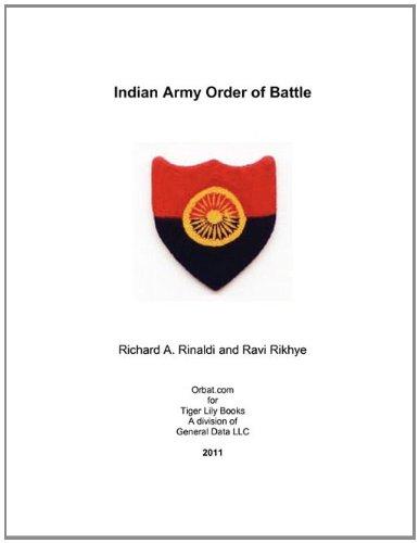 Indian Army Order of Battle (Paperback or: Rinaldi, Richard