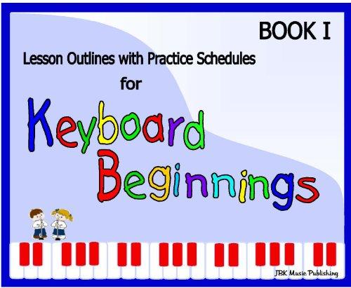 9780982068243: Keyboard Beginnings Music Lesson Guide Set plus Materials