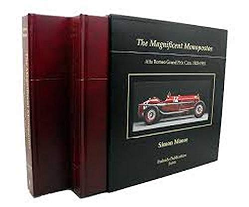 9780982077429: The Magnificent Monoposto's, Alfa Romeo Grand Prix Cars 1923-1951