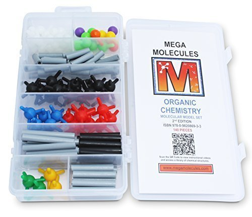 9780982086933: Organic Chemistry Molecular Model Set