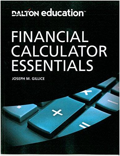 9780982088418: Financial Calculator Essentials