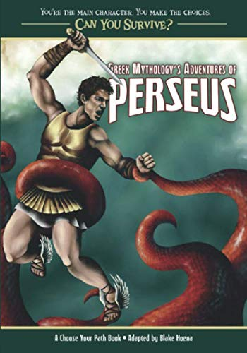 9780982118795: Greek Mythology Adventures of Perseus: A Choose Your Path Book