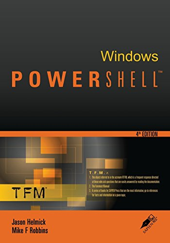 9780982131466: Windows Powershell