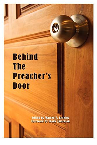 9780982137680: Behind The Preacher's Door