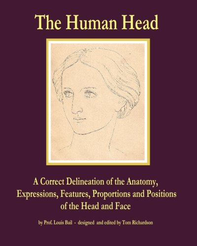 9780982167830: The Human Head: A Correct Delineation of the Anatomy, Expressions, Features, Proportions and Positions of the Head and Face
