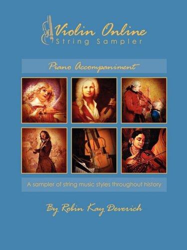 9780982170519: Violin Online String Sampler: Piano Accompaniment