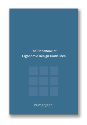 9780982189467: Handbook of Ergonomic Design Guidelines