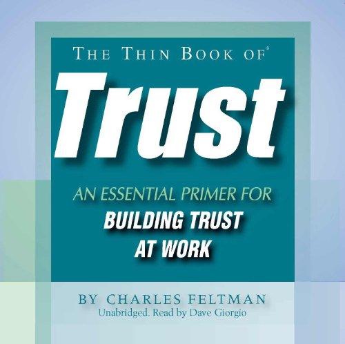 9780982206812: Thin Book of Trust Audiobook (Unabridged)