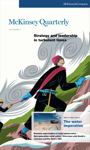 9780982252444: McKinsey Quarterly - Q1 2010 - Strategy and leadership in turbulent times