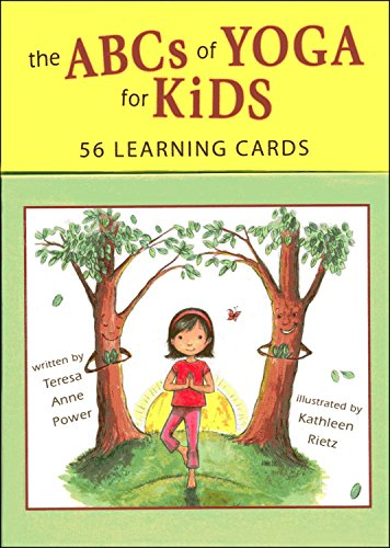 9780982258736: The The Abcs of Yoga for Kids Learning Cards