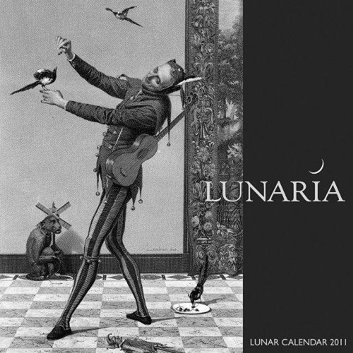 9780982264416: Cal 2011 Lunaria Lunar Wall