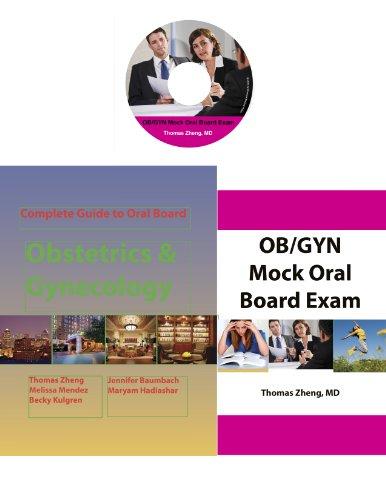 9780982267769: OB/GYN Oral Board Exam 3 in 1 Set