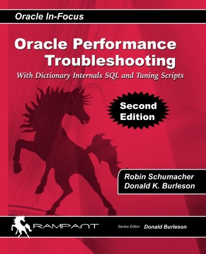 9780982306178: Oracle Performance Troubleshooting: With Dictionary Internals SQL and Tuning Scripts (Oracle In-Focus series) (Volume 36)
