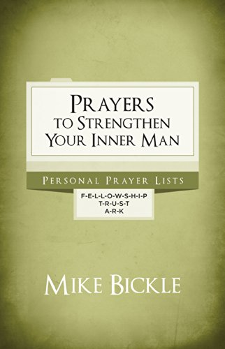 9780982326213: Prayers to Strengthen Your Inner Man
