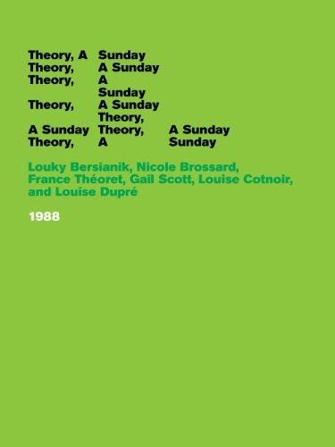 9780982338780: Theory, A Sunday
