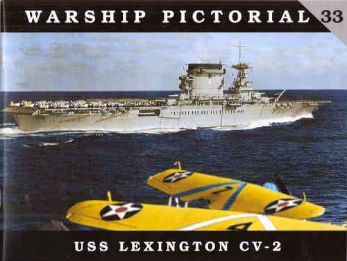 9780982358337: Warship Pictorial No. 33 - USS Lexington CV-2