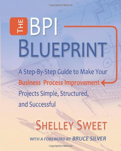 9780982368138: The Bpi Blueprint: A Step-By-Step Guide to Make Your Business Process Improvement Projects Simple, Structured, and Successful