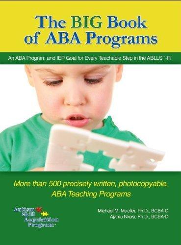 The BIG Book of ABA Programs: Michael M?ller