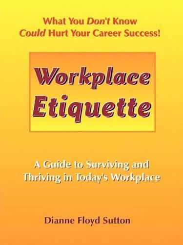 9780982383100: Workplace Etiquette