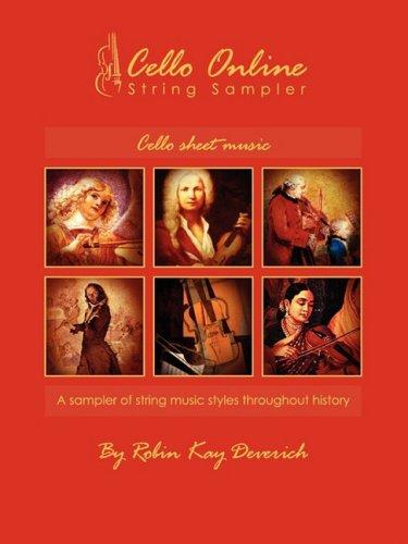 9780982385623: Cello Online String Sampler Cello Sheet Music