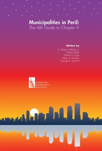 9780982402658: Municipalities in Peril: The ABI Guide to Chapter 9