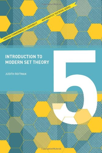 9780982406243: Introduction to Modern Set Theory