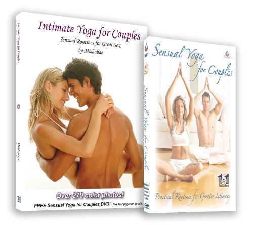 9780982416693: Intimate Yoga For Couples with 270 Color Photos & Free DVD