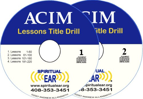9780982432822: A Course In Miracles Lessons Title Drill