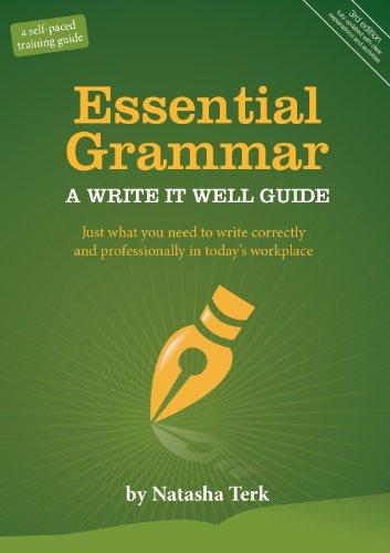 9780982447123: Essential Grammar: A Write It Well Guide