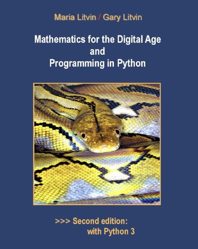 9780982477540: Mathematics for the Digital Age and Programming in Python
