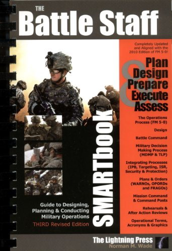 9780982485941: Battle Staff SMARTbook, 3rd Rev. Ed Guide to Designing, Planning and Conducting Military Operations