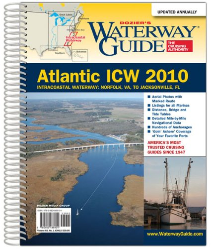 9780982488904: Dozier's Waterway Guide Atlantic ICW 2010 (Waterway Guide. Intracoastal Waterway Edition)