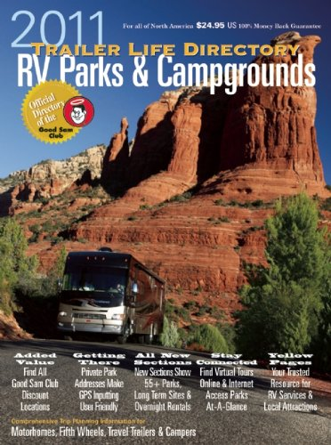 9780982489437: Trailer Life RV Parks, Campgrounds, and Services Directory 2011