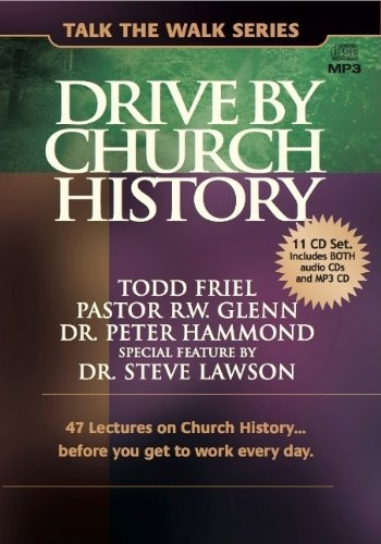9780982499139: Drive by Church History: 47 lectures on Church Historybefore you get to work every day. (Talk the Walk)