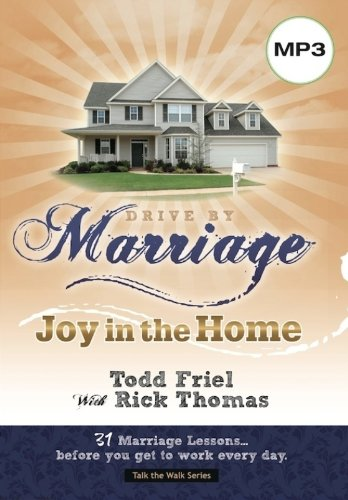 9780982499153: Drive by Marriage: 33 Marriage Lessons...before you get to work every day.