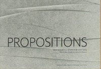 Propositions: Thesis Research in Architecture 2007-2009 [Jan 01, .