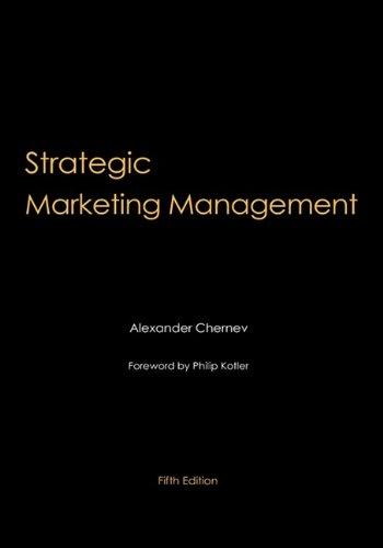9780982512647: Strategic Marketing Management, 5th Edition
