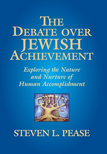 9780982516850: The Debate Over Jewish Achievement: Exploring the Nature and Nurture of Human Accomplishment