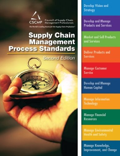 9780982534816: CSCMP's Supply Chain Management Process Standards (2nd Edition)