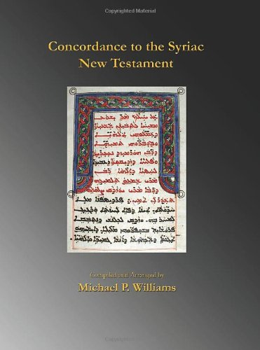9780982579039: Concordance to the Syriac New Testament