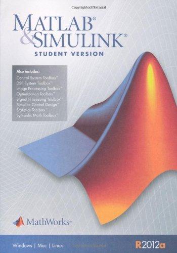 9780982583852: MATLAB & Simulink Student Version 2012a