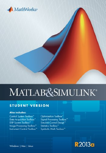 9780982583883: MATLAB & Simulink Student's Version 2013a