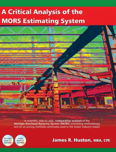 9780982606209: A Critical Analysis of the MORS Estimating System