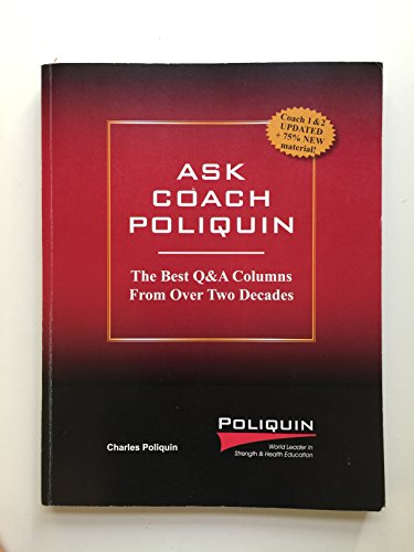 Ask Coach Poliquin: The Best Q&A Columns From Over Two Decades (0982608632) by Charles Poliquin