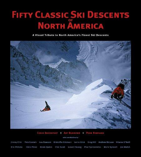 9780982615430: 50 Classic Ski Descents of North America