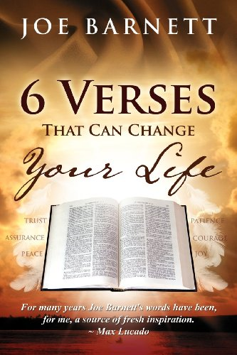 9780982621592: 6 Verses That Can Change Your Life