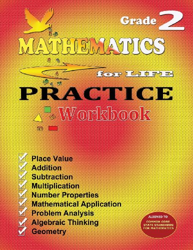 9780982627655: Mathematics for Life Practice Workbook - Grade 2