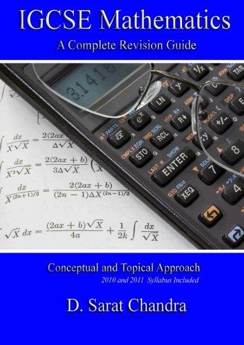 9780982649022: IGCSE Mathematics: A Complete Revision Guide